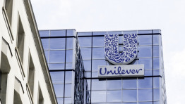 Unilever is aiming to use at least 25% PCR by 2025 and expects to double the amount it uses over the next 12 months